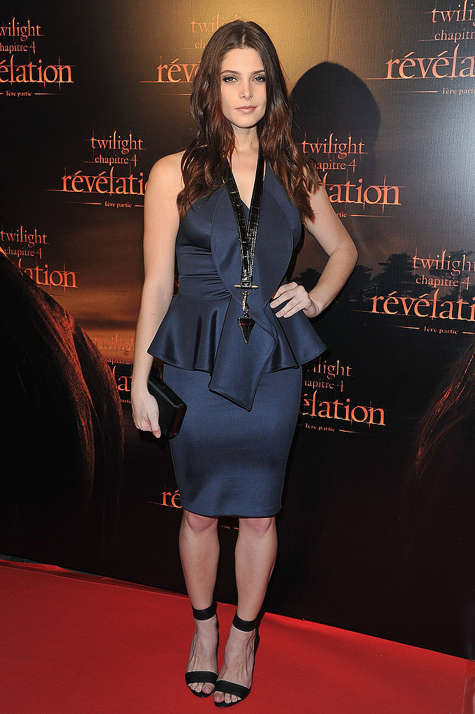 Ashley Greene promotes Breaking Dawn.