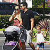 Jessica Alba With Family at Pumpkin Patch Pictures