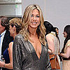Jennifer Aniston Low Cut Dress Pictures at Elle Event