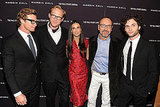 Simon Baker, Paul Bettany, Demi Moore, Kevin Spacey, and Penn Badgley showed their united support for Margin Call in NYC.