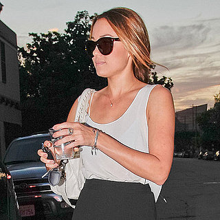 Lauren Conrad Dyes Hair Peach Pictures