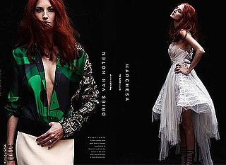 Fashion Editor Turned Model: See Marie Claire's Taylor Tomasi Hill Model for The Block Magazine A/W 2011 Issue