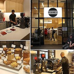 Coffee Bar Financial District, SF (Pictures)