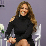 Jennifer Lopez poses at Kohl's.