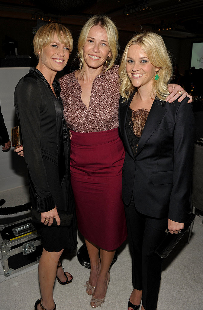 Chelsea Handler, Robin Wright, and Reese Witherspoon came out in support of women in Hollywood.
