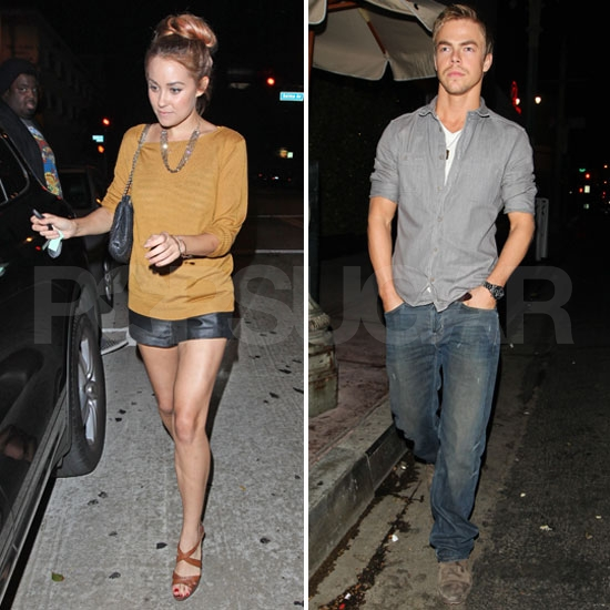 Lauren Conrad Spends Her Monday Night Out on the Town With Derek Hough