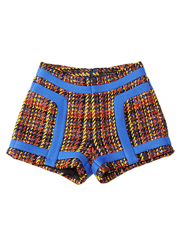 A statement piece that gives tweed a whole new feel. Rag & Bone Evenki Short ($415)