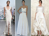 Pictures of the best designer wedding dresses from 2012 Autumn Winter Bridal Fashion Week: Vera Wang, Oscar de la Renta and more