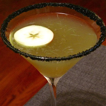 Halloween Apple Cocktail Recipe