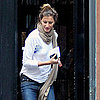 Gisele Bundchen Pictures Moving Boxes to Her New Boston Home