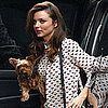 Miranda Kerr Pictures With Dog Frankie in NYC