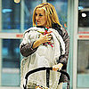 Kate Hudson With Baby Bing at NYC Airport Pictures