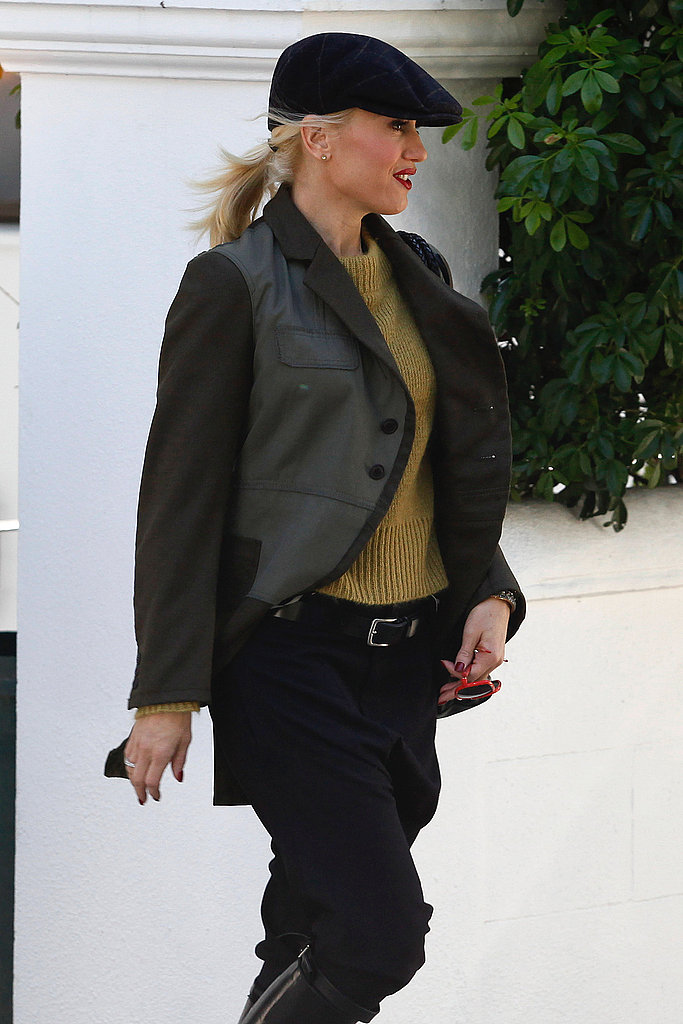 Gwen Stefani continued her stay in England.