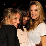 Cameron Diaz at Studio 54 With Bar Refaeli (Video)