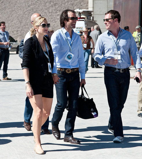 Kate joined Ned on a tour of the new runway.