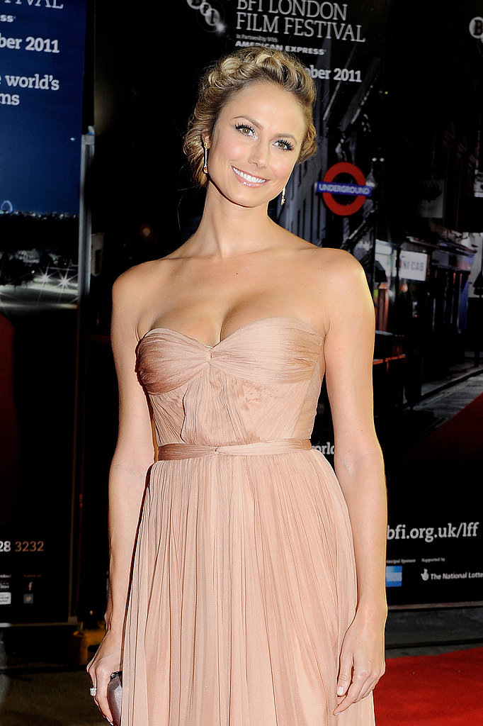 Stacy Keibler at The Descendants premiere in London.
