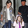 Katie Holmes and Suri Cruise Pictures Leaving NYC Apartment