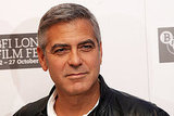 George Clooney at a photo call in London.