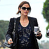 Pregnant Jennifer Garner Pictures in Sequins and Heels