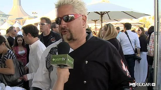 Guy Fieri Dishes on His New Show With Rachael Ray
