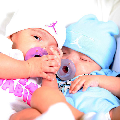 Pictures of Mariah Carey's Twins Moroccan and Monroe