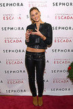 Bar Refaeli presented a new fragrance for Escada in NYC.