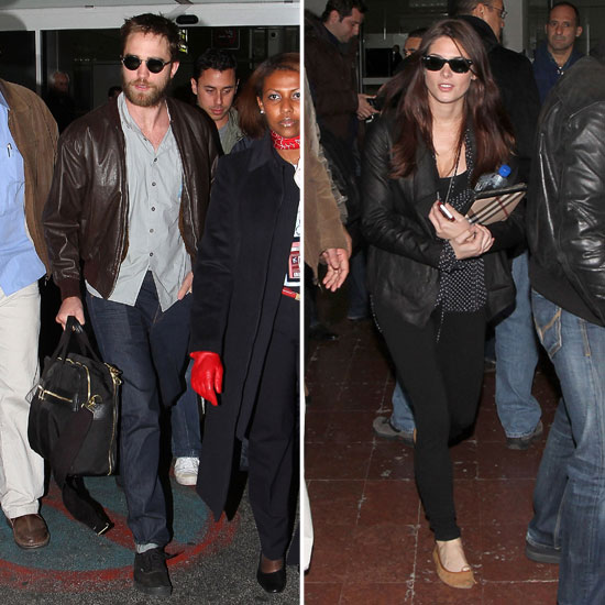 Robert Pattinson and Ashley Greene Touch Down in Paris