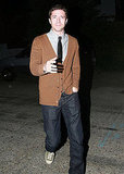 Topher Grace at Kate Hudson's Halloween party.
