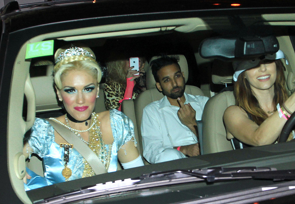 Gwen Stefani at Kate Hudson's Halloween party.