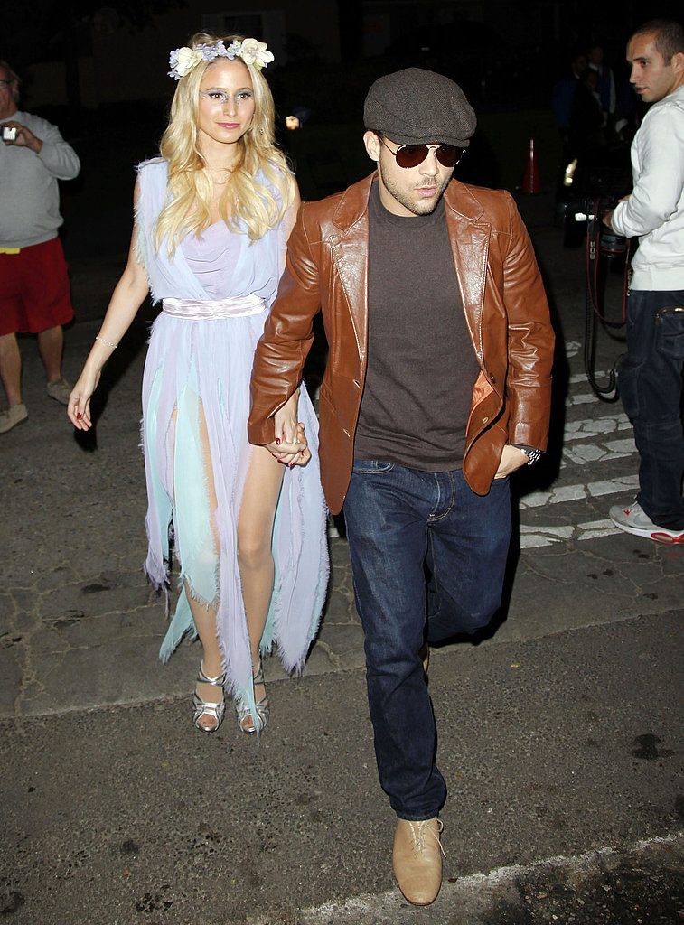 Jerry Ferrara at Kate Hudson's Halloween party.