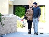 Jessica Simpson with Eric Johnson in LA.