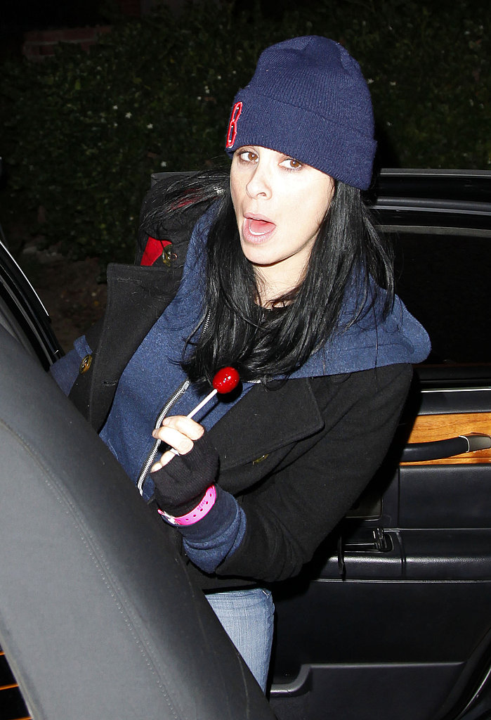 Sarah Silverman at Kate Hudson's Halloween party.