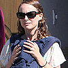 Natalie Portman Pictures With Son Aleph at LA Temple
