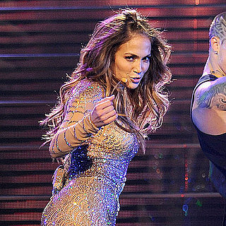 Jennifer Lopez Crying Onstage Pictures at Mohegan Sun