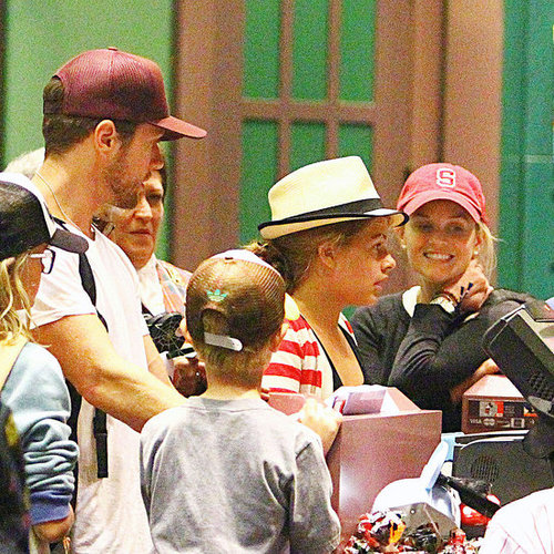 Reese Witherspoon, Ryan Phillippe Disney Pictures Deacon's Birthday