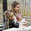 Jessica Alba With Honor and Haven at NYC Park Pictures