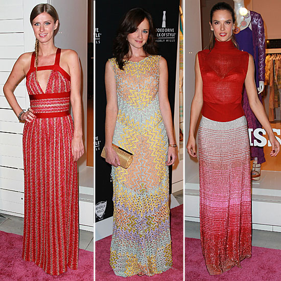 Stars Slip Into Missoni to Honor the Brand and Iman on Rodeo's Walk of Style