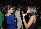 Olivia Wilde, Eva Longoria, and Zoe Saldana hit the dance floor.