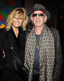 Keith Richards and Patti Hansen made it a date night in NYC.