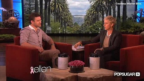 Funny Justin Timberlake Interview on The Ellen DeGeneres Show About Ryan Gosling