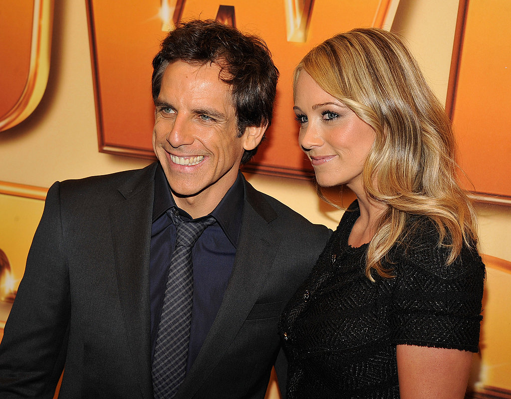 Ben Stiller put on his best smile.