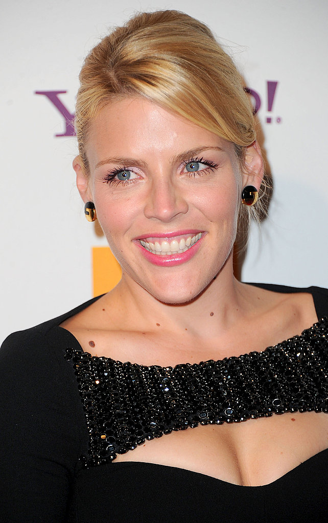 Busy Philipps brought her brightest smile to the Hollywood Film Awards gala.