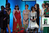 Octavia Spencer, Allison Janney, Bryce Dallas Howard, Ahna O'Reilly, Cicely Tyson, Mary Steenburgen, Emma Stone, and Viola Davis accepted the Hollywood Ensemble Acting award.