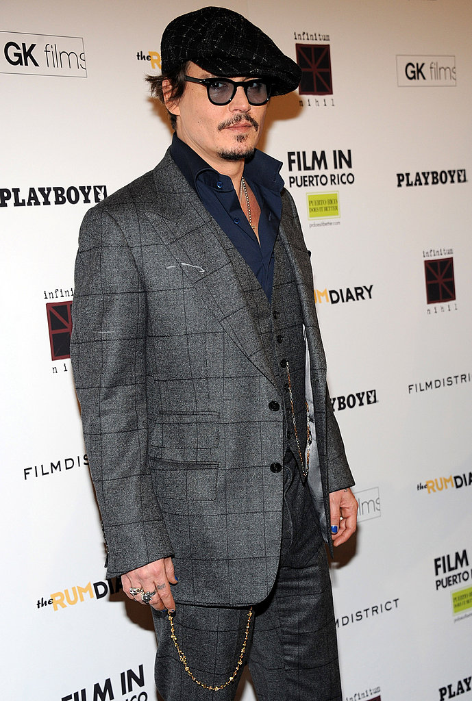 Johnny Depp took The Rum Diary to the East Coast.
