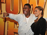 Tracy Morgan had fun with fans.