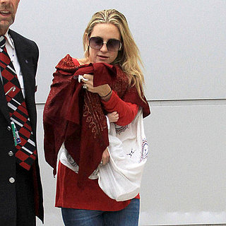 Kate Hudson and Bingham Pictures at LAX