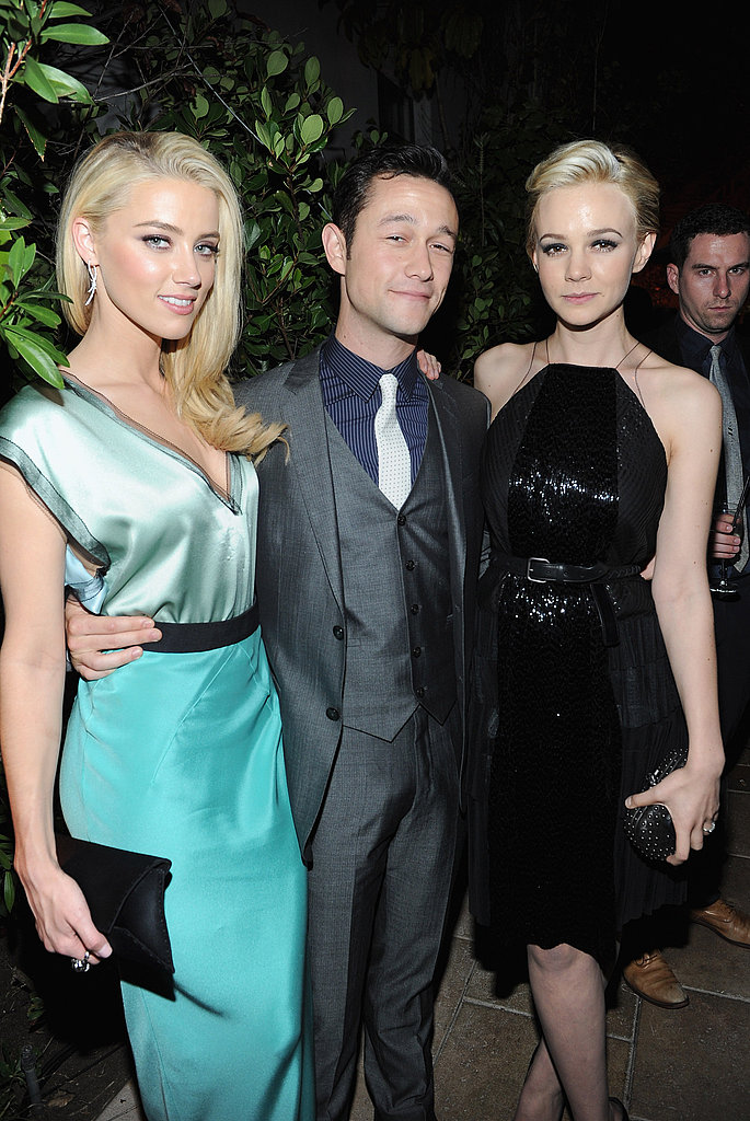Amber Heard, Joseph Gordon-Levitt, and Carey Mulligan hung out at multiple events in LA.