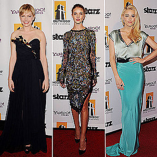 Celebrity Fashion at Hollywood Film Awards Gala 2011