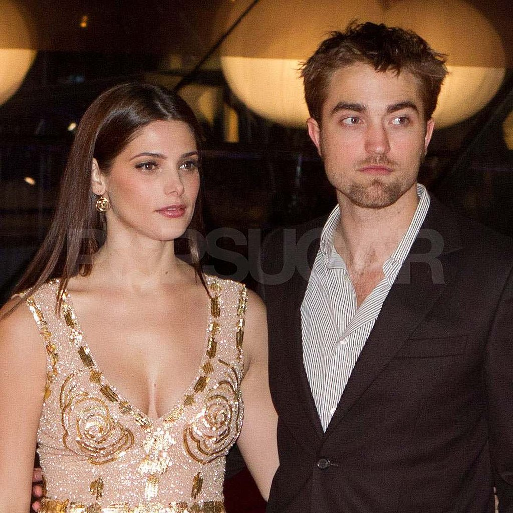 Robert Pattinson and Ashley Greene in Brussels.