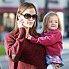 Jennifer Garner &amp; Ben Affleck With Seraphina in LA Pictures